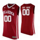 Youth Oklahoma Sooners #6 Baker Mayfield Red College Basketball Jersey