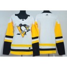Youth Pittsburgh Penguins Blank White Jersey