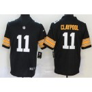 Youth Pittsburgh Steelers #11 Chase Claypool Limited Black Alternate Vapor Untouchable Jersey