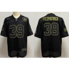 Youth Pittsburgh Steelers #39 Minkah Fitzpatrick Limited Black 2020 Salute To Service Jersey