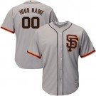 Youth San Francisco Giants Customized Gray 2 Cool Base Jersey
