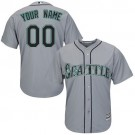Youth Seattle Mariners Customized Gray Cool Base Jersey