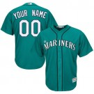 Youth Seattle Mariners Customized Green Cool Base Jersey
