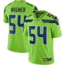 Youth Seattle Seahawks #54 Bobby Wagner Limited Green Rush Color Jersey