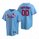 Youth St Louis Cardinals Customized Light Blue Alternate 2020 Cool Base Jersey