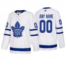 Youth Toronto Maple Leafs Customized White Authentic Jersey