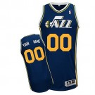 Youth Utah Jazz Customized Navy Swingman Adidas Jersey