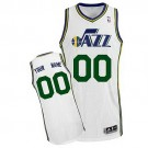 Youth Utah Jazz Customized White Swingman Adidas Jersey