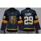 Youth Vegas Golden Knights #29 Marc Andre Fleury Gray Jersey