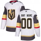 Youth Vegas Golden Knights Customized White Authentic Jersey