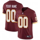 Youth Washington Football Team Customized Limited Red Vapor Untouchable Jersey