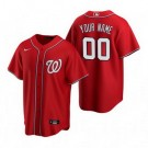 Youth Washington Nationals Customized Red 2020 Cool Base Jersey