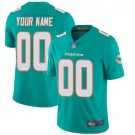 Youth Miami Dolphins Customized Limited Aqua Vapor Untouchable Jersey