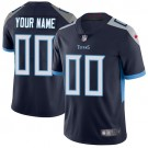 Youth Tennessee Titans Customized Limited Navy Vapor Untouchable Jersey