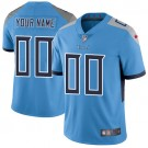 Youth Tennessee Titans Customized Limited Light Blue Vapor Untouchable Jersey